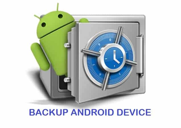 Backup Important Data on Android